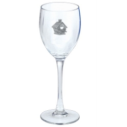 Birdhouse Wine Glass