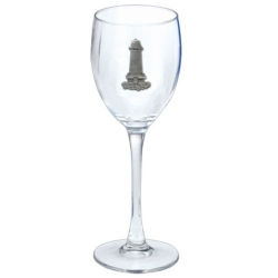 Lighthouse Wine Glass