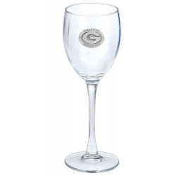"University of Georgia ""G"" Wine Glass"