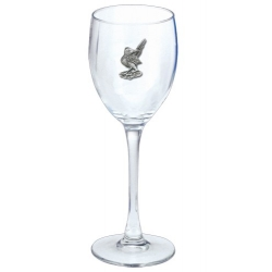 Road Runner Wine Glass