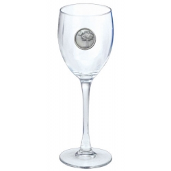 South Carolina Palmetto Wine Glass