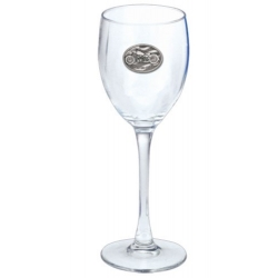 Motorcycle Wine Glass