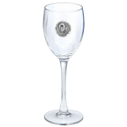 "University of Oklahoma ""OU"" Wine Glass"