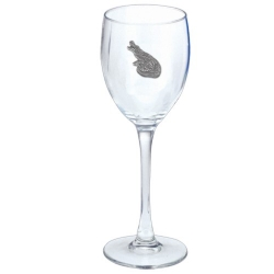 Alligator Wine Glass
