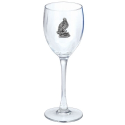 Eagle Wine Glass