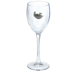 Loon Wine Glass
