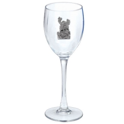 Moose Wine Glass