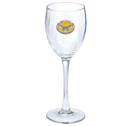 Kennesaw State University Wine Glass - Enameled