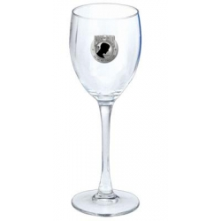 POW MIA Wine Glass - Enameled