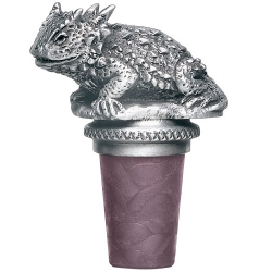 Horned Toad Bottle Stopper