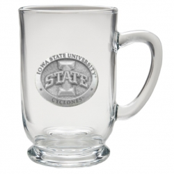 "Iowa State University ""I"" Clear Coffee Cup"