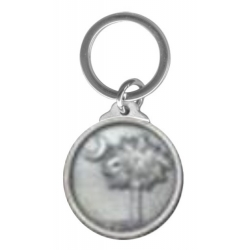 South Carolina Palmetto Key Chain