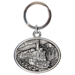 Train Key Chain