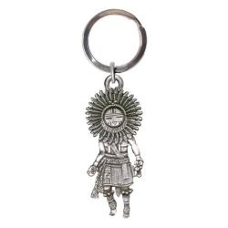 Sun Kachina Key Chain