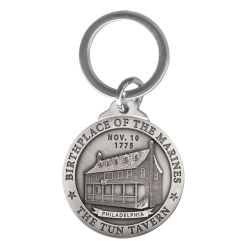 "Marine Corps ""Historic"" Key Chain"