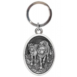Wolves Key Chain #2