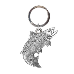 Salmon Key Chain