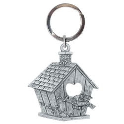 Birdhouse Key Chain