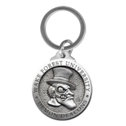 "Wake Forest University ""Demon Deacons"" Key Chain"