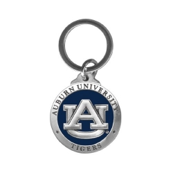Auburn University Key Chain - Enameled