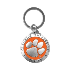 Clemson University Key Chain - Enameled