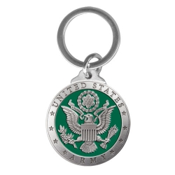Army Key Chain - Enameled