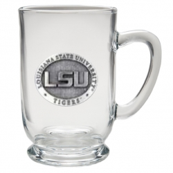 Louisiana State University Clear Coffee Cup