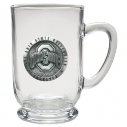 Ohio State University Clear Coffee Cup