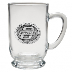 Oklahoma State University Clear Coffee Cup