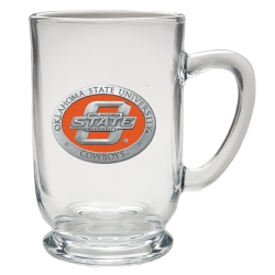 Oklahoma State University Clear Coffee Cup - Enameled