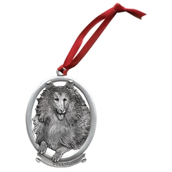 Collie Ornament