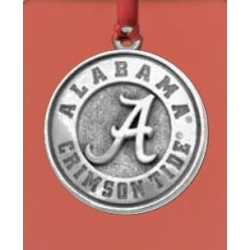 "Alabama ""A"" Crimson Tide Ornament"