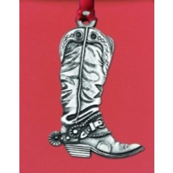 Cowboy Boot Ornament
