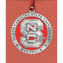 NC State University Ornament - Enameled
