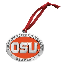Oregon State University Ornament - Enameled
