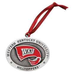 Western Kentucky University Ornament - Enameled