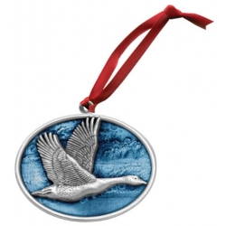 Canadian Goose Ornament - Enameled