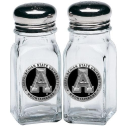 Appalachian State University Salt and Pepper Shaker Set - Enameled