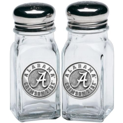 "Alabama ""A"" Crimson Tide Salt & Pepper Shaker Set"