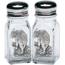 Mountain Goat Salt and Pepper Shaker Set
