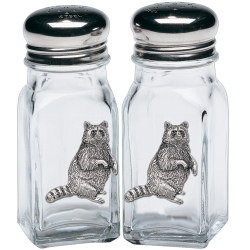 Racoon Salt and Pepper Shaker Set