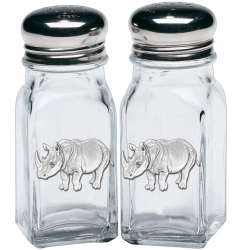 Rhino Salt and Pepper Shaker Set