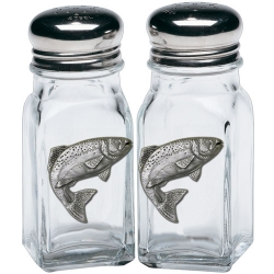 Trout Salt and Pepper Shaker Set