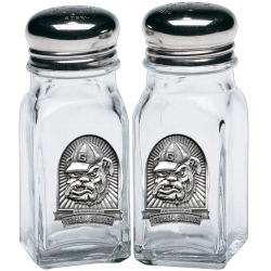 "University of Georgia ""Bulldog"" Salt and Pepper Shaker Set"