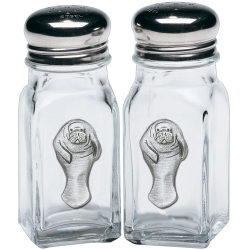 Manatee Salt and Pepper Shaker Set