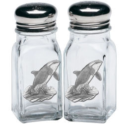 Orca Salt and Pepper Shaker Set