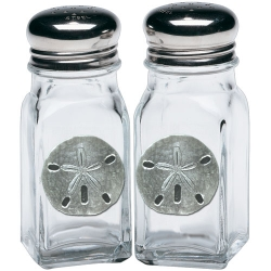 Sand Dollar Salt and Pepper Shaker Set