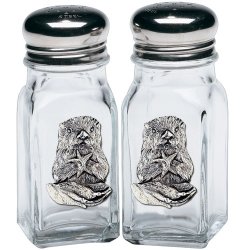 Sea Otter Salt and Pepper Shaker Set