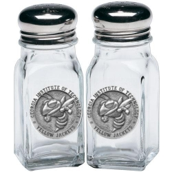 """Georgia Institute of Technology """"Yellow Jacket"""" Salt and Pepper Shaker Set"""