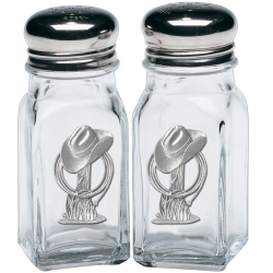 Cowboy Hat Salt and Pepper Shaker Set